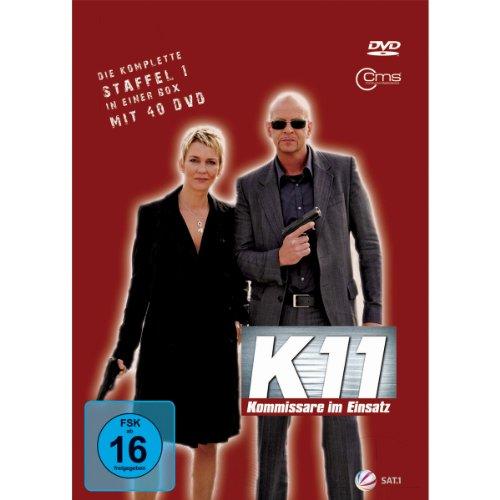 K11 Kommissare im Einsatz: Die komplette Staffel 1 (10 DVDs)