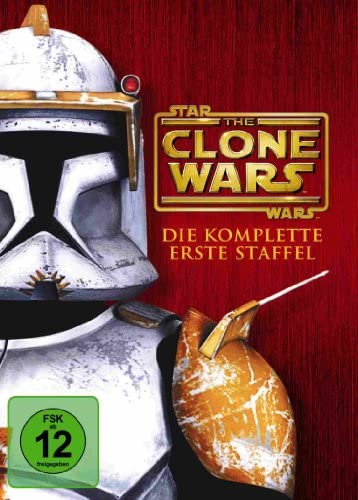Star Wars - The Clone Wars: Staffel 1 (4 DVDs)