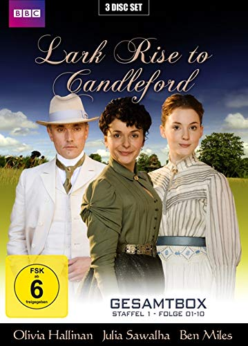 Lark Rise to Candleford Gesamtbox Staffel 1+2 (3 DVDs)