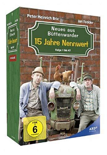 Neues aus Büttenwarder 15 Jahre Nennwert (Folge 1-47) (14 DVDs)