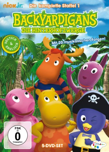 Backyardigans - Komplettbox (5 DVDs)