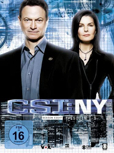CSI: NY Season 8.1 (3 DVDs)