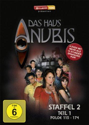 Das Haus Anubis Staffel 2.1, Episoden 115-174 (4 DVDs)
