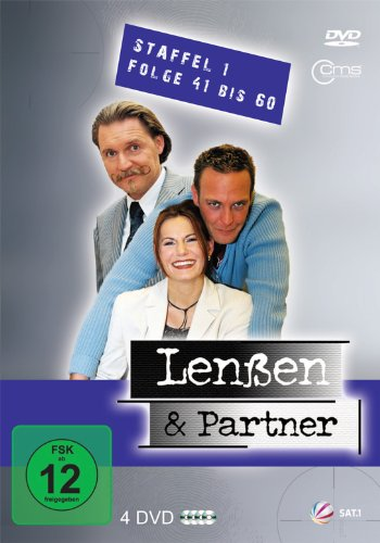Lenßen und Partner Staffel 1, Folge 41-60 (4 DVDs)
