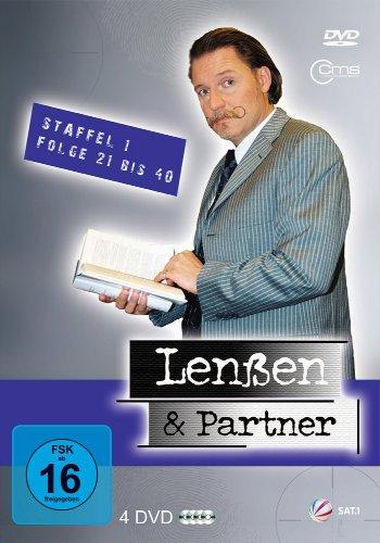 Lenßen und Partner Staffel 1, Folge 21-40 (4 DVDs)