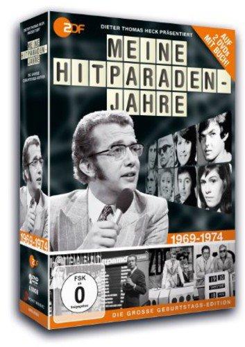 Dieter Thomas Heck - Meine Hitparadenjahre 1969-1974 (2 DVDs + Buch)