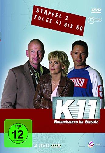 K11 Kommissare im Einsatz: Staffel 2, Folge  41-60 (4 DVDs)
