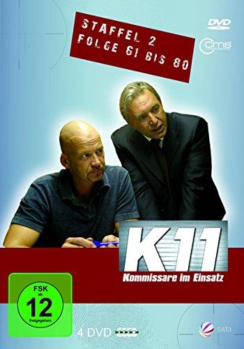 K11 Kommissare im Einsatz: Staffel 2, Folge  61-80 (4 DVDs)