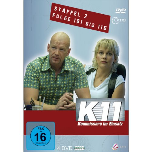 K11 Kommissare im Einsatz: Staffel 2, Folge 101-116 (4 DVDs)