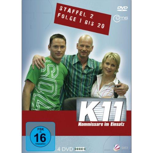 K11 Kommissare im Einsatz: Staffel 2, Folge   1-20 (4 DVDs)
