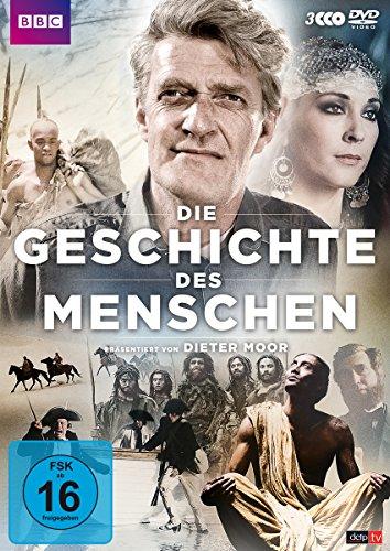 Die Geschichte des Menschen 3 DVDs