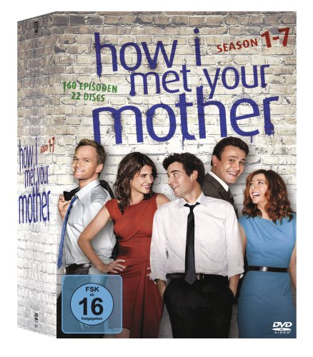 How I Met Your Mother Staffel 1-7 Komplettbox (22 DVDs)