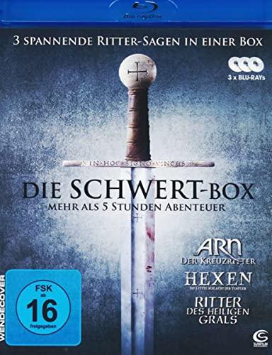 Die Schwert-Box: ARN - Der Kreuzritter: Hexen - Die letzte Schlacht der Templer, Ritter des heiligen Grals [Blu-ray]