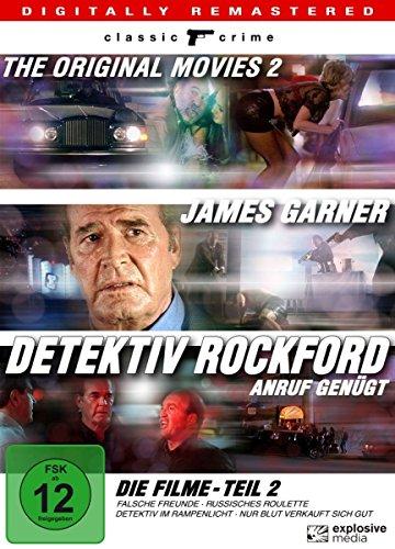 Detektiv Rockford Die Filme, Teil 2 (4 DVDs)