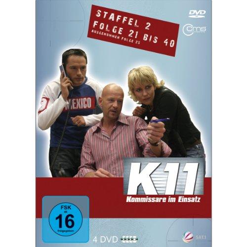 K11 Kommissare im Einsatz: Staffel 2, Folge  21-40 (4 DVDs)