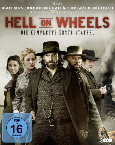 Hell on Wheels Staffel 1 [Blu-ray]