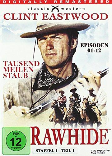 Rawhide Tausend Meilen Staub - Season 1.1 (3 DVDs)
