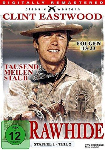 Rawhide Tausend Meilen Staub - Season 1.2 (3 DVDs)
