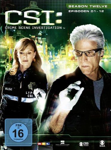 CSI Season 12 / Box-Set 1 (3 DVDs)