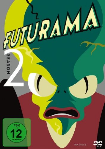 Futurama Season 2 (4 DVDs)