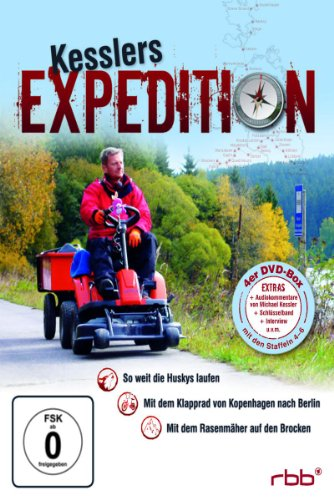 Kesslers Expedition Staffel  4-6 (4 DVDs)
