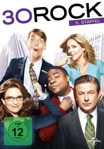 30 Rock Staffel 5 (3 DVDs)