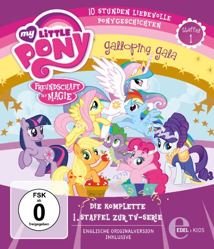 My Little Pony:  Freundschaft ist Magie Staffel 1 [Blu-ray]