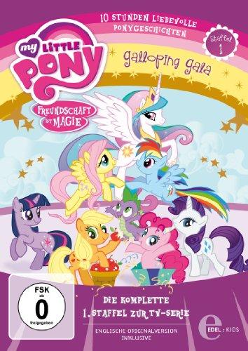 My Little Pony:  Freundschaft ist Magie Staffel 1 (4 DVDs)