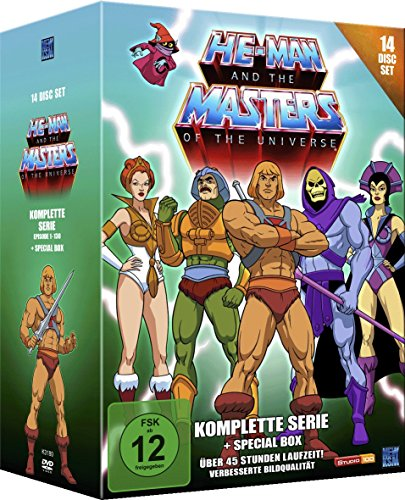 He-Man and the Masters of the Universe Die komplette Serie (14 DVDs)