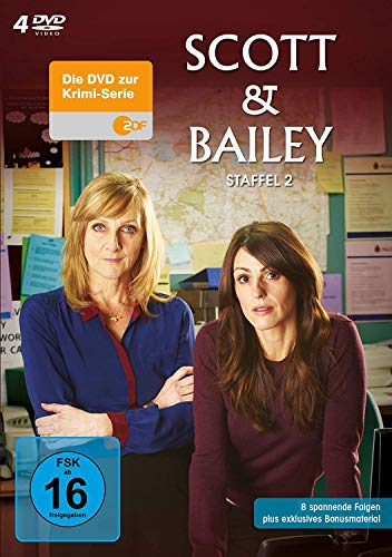 Scott & Bailey Staffel 2 (4 DVDs)