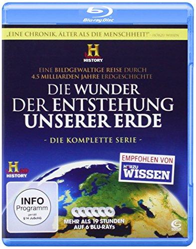 Die Wunder der Entstehung unserer Erde - Die Komplettbox [Blu-ray]