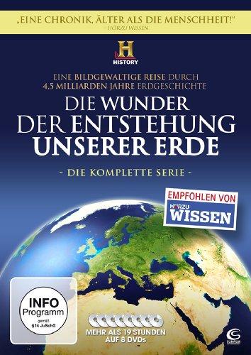 Die Wunder der Entstehung unserer Erde - Die Komplettbox (8 DVDs)