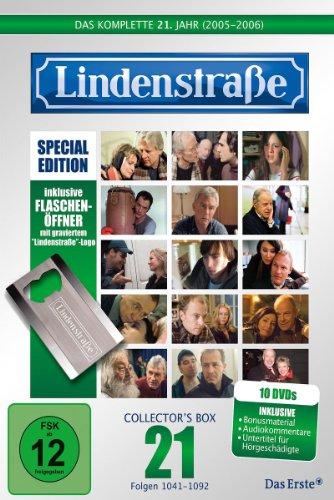 Lindenstraße Das komplette 21. Jahr (Special Edition mit Flaschenöffner) (10 DVDs)