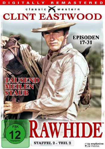 Rawhide Tausend Meilen Staub - Season 2.2 (4 DVDs)