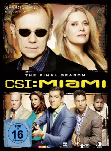 CSI: Miami Season 10.2 (3 DVDs)