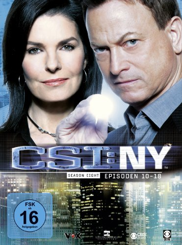 CSI: NY Season 8.2 (3 DVDs)