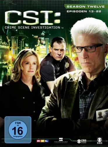CSI Season 12 / Box-Set 2 (3 DVDs)