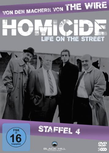 Homicide Life on the Street, Staffel 4 (3 DVDs)