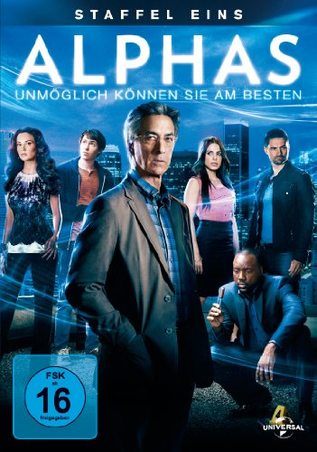 Alphas Staffel 1 (3 DVDs)