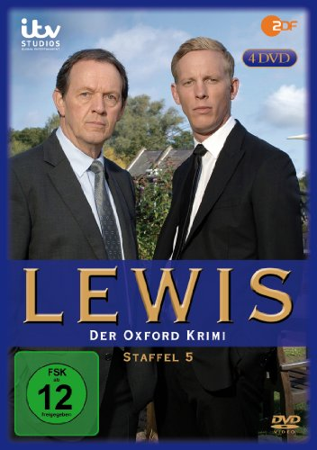 Lewis - Der Oxford Krimi Staffel 5 (4 DVDs)
