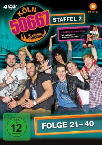 Köln 50667, Vol. 2: Folge 21-40 (Fan Edition) (4 DVDs)