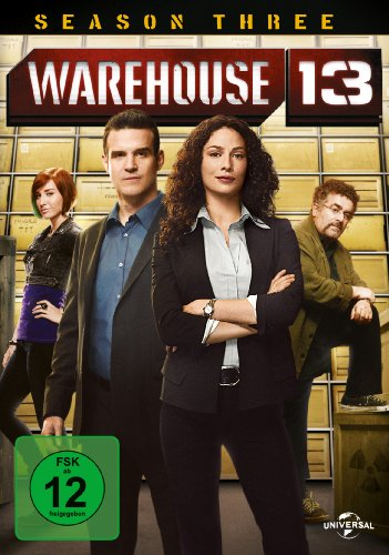 Warehouse 13 Season 3 (3 DVDs)