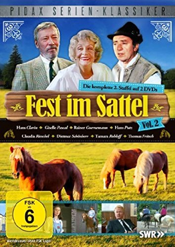 Fest im Sattel Staffel 2 (2 DVDs)