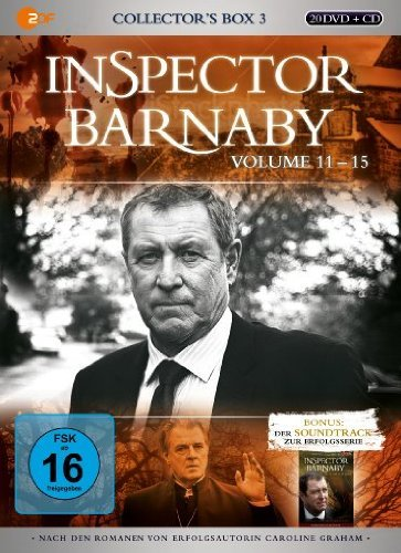 Inspector Barnaby Collector's Box 3, Vol. 11-15 (21 DVDs)