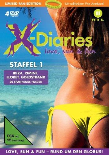 X-Diaries Staffel 1 (Fan Edition) (4 DVDs)