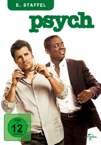 Psych Staffel 5 (4 DVDs)