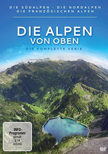 Die Alpen von oben Gesamtbox (6 DVDs)