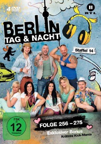 Berlin - Tag & Nacht, Vol. 14: Folgen 256-275 (4 DVDs)