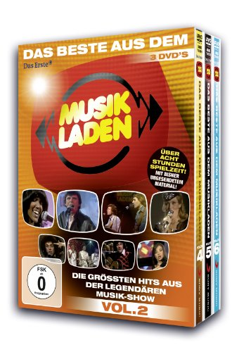 Das Beste aus dem Musikladen - Volume 2 (3 DVDs)