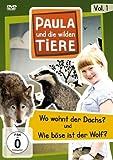 Paula und die wilden Tiere, Vol. 1: Wo wohnt der Dachs? / Wie böse ist der Wolf?